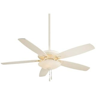 "MinkaAire Traditional Mojo 52"" 5 Blade Indoor Ceiling Fan with Blades and Bowl Light Kit Included"