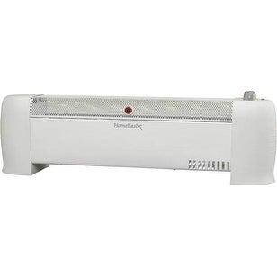 "Homebasix LH844 Electric Baseboard Heaters, 30"", 750/1500 Watts"