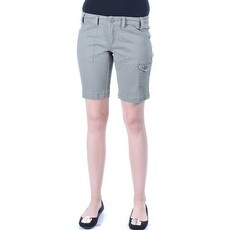 $90 BEBOP New Womens 1172 Green Cargo, Bermuda Short Juniors Juniors 11 B+B