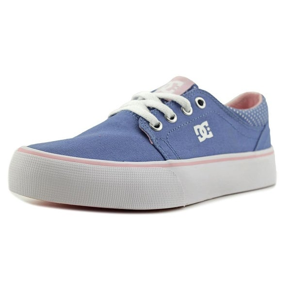 Shop DC Shoes Trase TX SE Girl Powder Blue Pink White Athletic Shoes ... c38eb7c6bfd