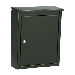 Architectural Mailboxes 2480 Locking Wall Mount Mailbox from the Soho Series