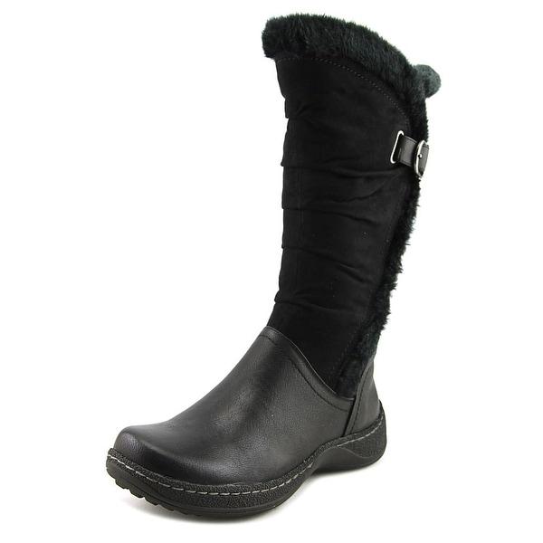 Kim Rogers Emilson Women Black Snow Boots