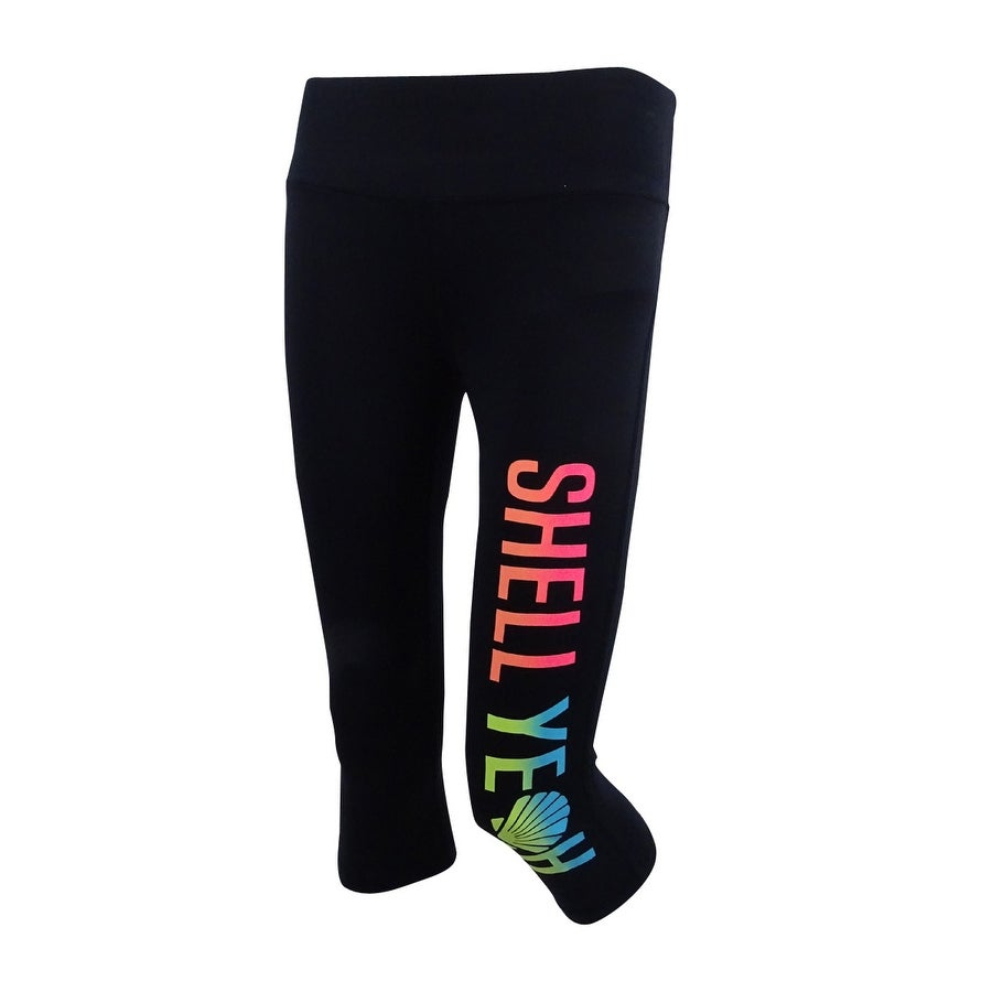 Material Girl Active Juniors Graphic Cropped Leggings