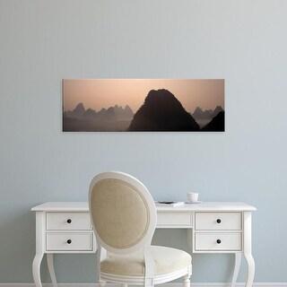 Easy Art Prints Panoramic Images's 'Guilin, China' Premium Canvas Art