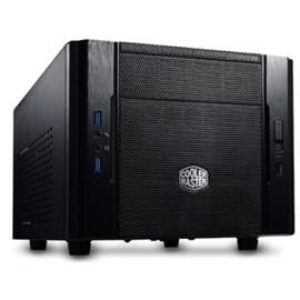 CoolerMaster Case RC-130-KKN1 ELITE 130 Mini Tower 1/0/(2) USB HD AUDIO Black No Power Supply Mini-ITX
