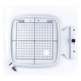 "Janome SQ14B 5.5"" x 5.5"" Embroidery Hoop fits MC500E, 400E and More! - 1"" x 1"" x 1"""