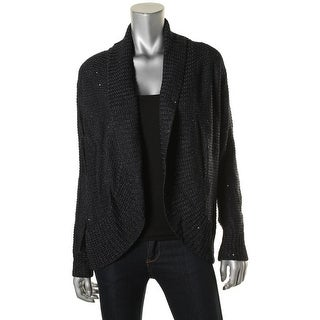 St John Womens Cardigan Sweater Knit Sequined