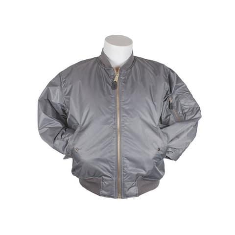 Fox Outdoor Jacket Mens MA1 Flight Insulated Reversible Zipper
