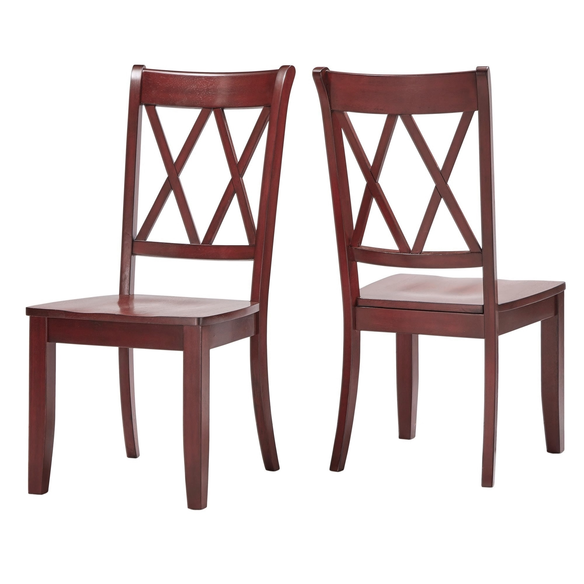 Eleanor X Back Wood Dining Chair (Set of 6) by iNSPIRE Q Classic