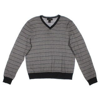 Private Label Mens Merino Wool Pattern Pullover Sweater