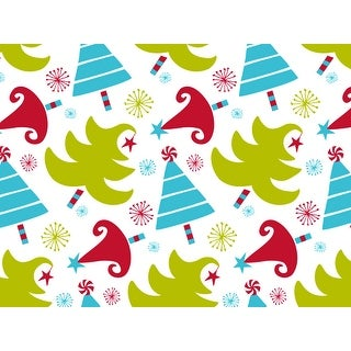 """Pack Of 120, Merry Trees Merry Trees Tissue Paper 120~20"""" X 30"""" Half Ream Recycled Made In Usa"""
