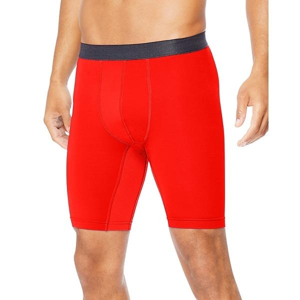 "Hanes Men/'s Performance Compression Shorts Sport Cool DRI 9/"" inseam Cool Comfort"