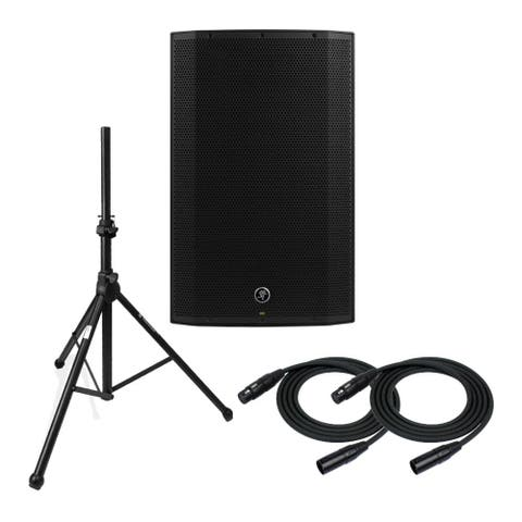 """Mackie Thump15A 1300W 15"""" Powered Loudspeaker with Stand and Cables"""