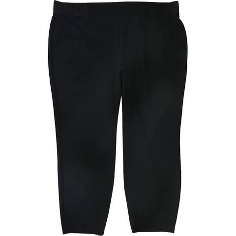 Alfani Womens Wide-Waist Casual Lounge Pants