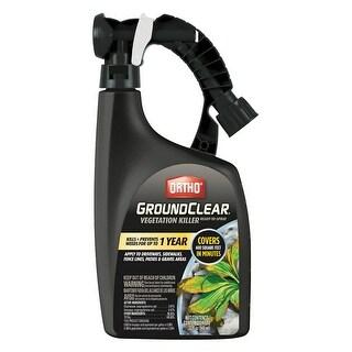 Ortho 0436806 GroundClear Vegetation Killer Liquid, 32 Oz