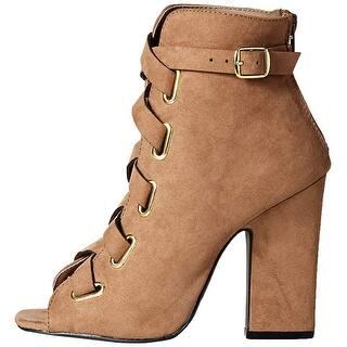 8eee3313a6c Buy Brown Qupid Women s Sandals Online at Overstock