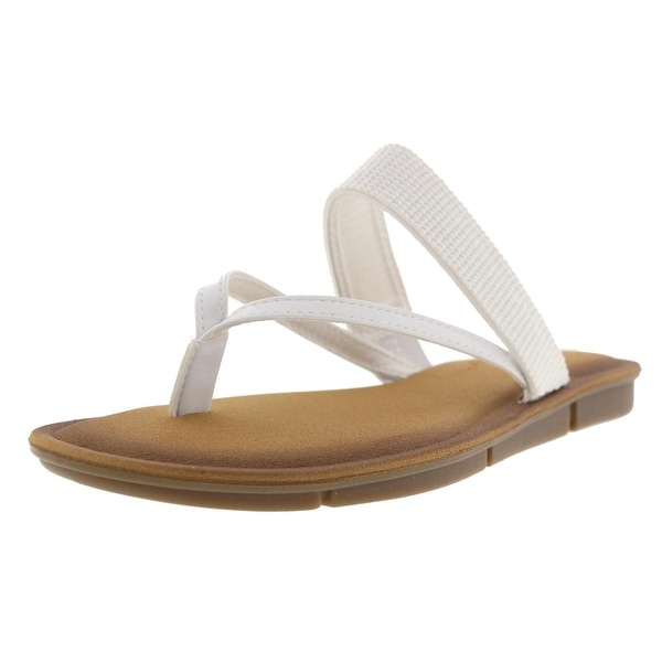ab7e12b5ab5 Shop Skechers Womens Indulge 2 Beach Side Thong Sandals Faux Leather  Embellished - 8 medium (b