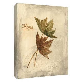 "PTM Images 9-154532  PTM Canvas Collection 10"" x 8"" - ""Hope"" Giclee Leaves Art Print on Canvas"