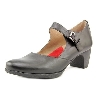 Softwalk Irish N/S Round Toe Leather Mary Janes