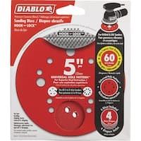 "Diablo 4Pk 5"" 60G Sanding Disc"