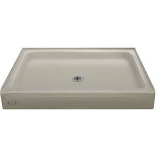 "Jacuzzi CAY4234SCXXXX Cayman 34"" x 42"" Single Threshold Shower Pans with Center Drain"