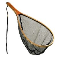 Danielson 13.5in x 8.5in Catch and Release Bamboo Net - NLWFCR