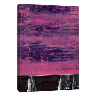 "PTM Images 9-105297  PTM Canvas Collection 10"" x 8"" - ""Squeegeescape 6"" Giclee Abstract Art Print on Canvas"