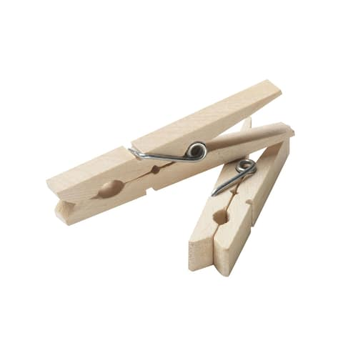 Household Essentials 4701 96 Count Wood Clothespins