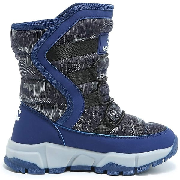 Snow Boots for Winter Warm Waterproof Boots for Boys and Girls GUBARUN Childrens Winter Boots Outdoors