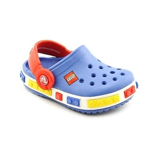 Crocs Crocband Kids Lego Clog Round Toe Synthetic Clogs