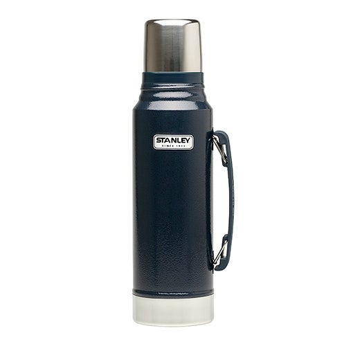 Stanley 10-01254-036 Classic Vacuum Bottle, 1.1 Quart, Navy
