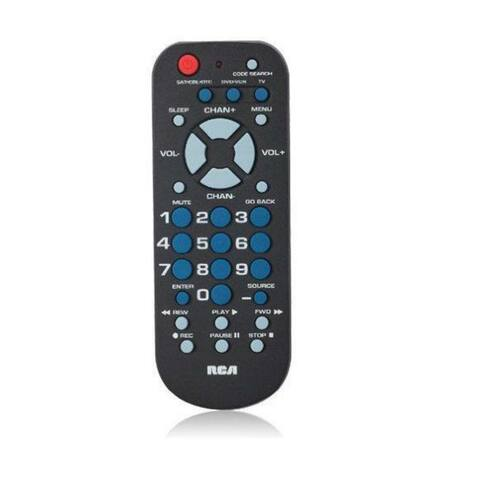 GE/RCA RCARCR503BRB RCA RCR503BR 3-Device Palm-Sized Universal Remote
