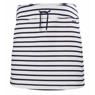 Helly Hansen Womens Naiad Skirt Evening Blue Stripe - L