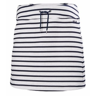 Helly Hansen Womens Naiad Skirt Evening Blue Stripe - XL