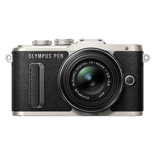 Olympus PEN E-PL8 16.1 Megapixel Mirrorless Camera with Lens - 14 (Refurbished)