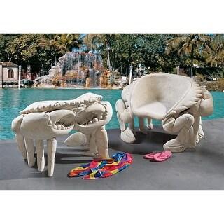 Design Toscano Spice Islands Sculptural King Crab Chair