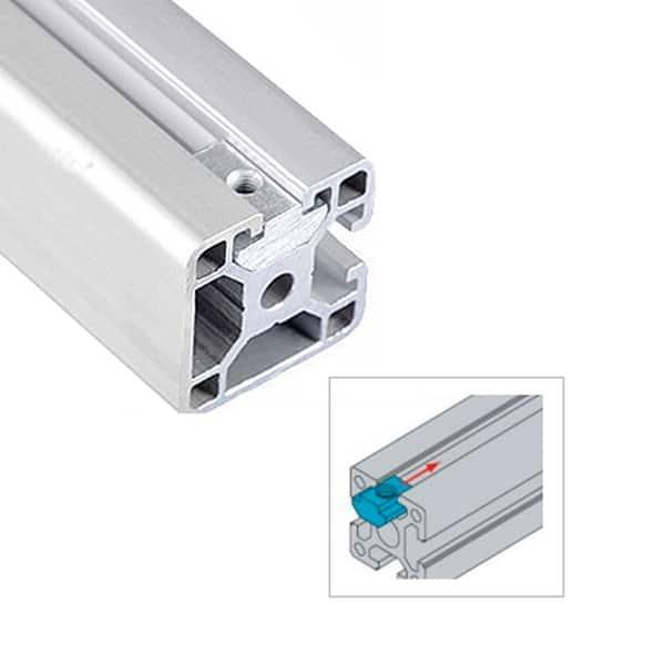 10pcs aluminum profiles2020 3030 4040 4545 CNC M4 M5 M6 M8 half round spring nut