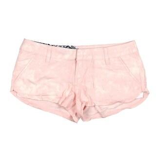 Volcom Womens Juniors Ur A Pistol Casual Shorts Acid Wash Flat Front|https://ak1.ostkcdn.com/images/products/is/images/direct/df2e2d57bdf659823effc79745f8f32ea8a58621/Volcom-Womens-Juniors-Ur-A-Pistol-Acid-Wash-Flat-Front-Casual-Shorts.jpg?_ostk_perf_=percv&impolicy=medium