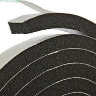 "Frost King R534H Black Rubber Foam Tape, 3/4"" x 5/16"" x 10'"