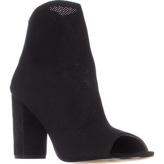 STEVEN Steve Madden Acko Peep-Toe Ankle Booties, Black|https://ak1.ostkcdn.com/images/products/is/images/direct/df3003a8a8c012c1e1a7de6cc046de63b179c811/STEVEN-Steve-Madden-Acko-Peep-Toe-Ankle-Booties%2C-Black.jpg?_ostk_perf_=percv&impolicy=medium
