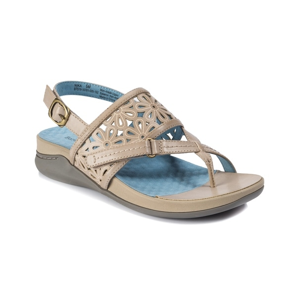 686e1456ca Shop Baretraps Nika Women's Sandals Taupe - Free Shipping Today ...