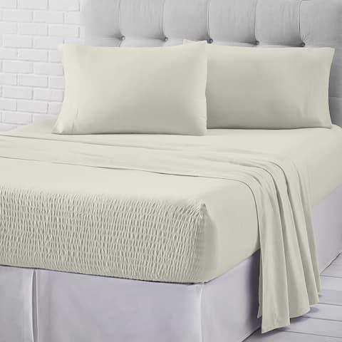 Five Queens Court Royal Fit Jersey Cotton Sheet Set
