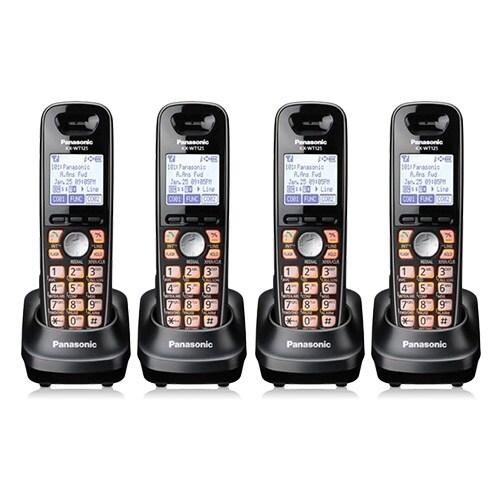 Panasonic-KX-WT125 (4 Pack) Business DECT Phone