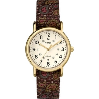 Timex Weekender Analog Off-White Dial Women's Watch - TW2P80200