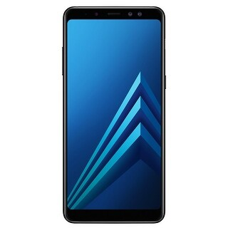 Samsung Galaxy A8+ A730F 32GB Unlocked GSM 4G LTE Android Phone w/ Dual 16MP + 8MP Front Camera - Black (Certified Refurbished)