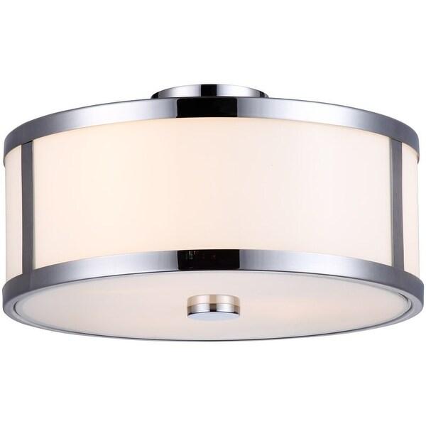 DVI Lighting DVP1112 Uptown 3 Light Semi-Flush Ceiling Fixture