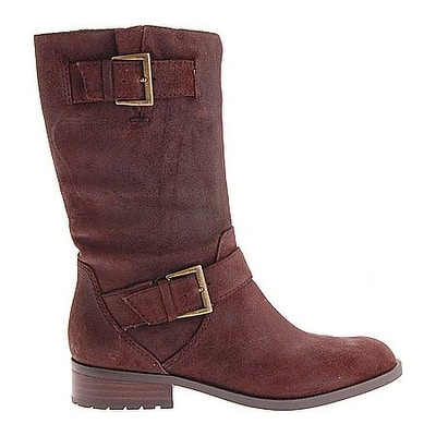 8a669226a7c Shop Enzo Angiolini Women's Side Motorcycle Mid Calf Boots - 10 ...