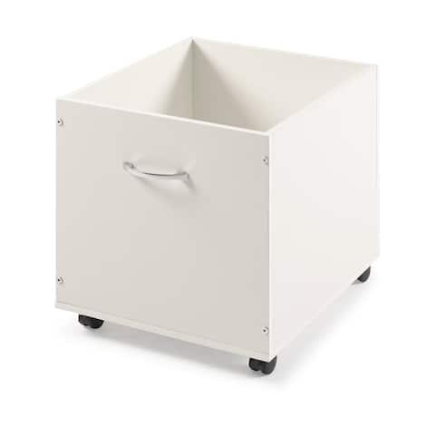 Toy Box in Grey & White