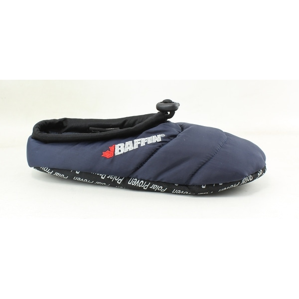 c27b175c361 Shop Baffin Womens Cush Navy Bootie Slippers Size Small - On Sale ...