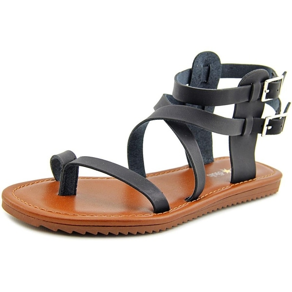 Seven Dials Sync Open Toe Synthetic Gladiator Sandal